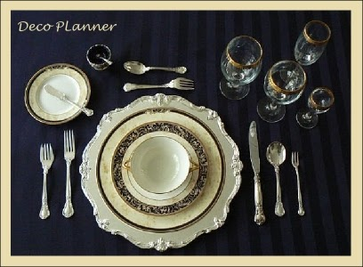 Etiqueta y protocolo como armar una mesa formal for Protocolo cubiertos mesa