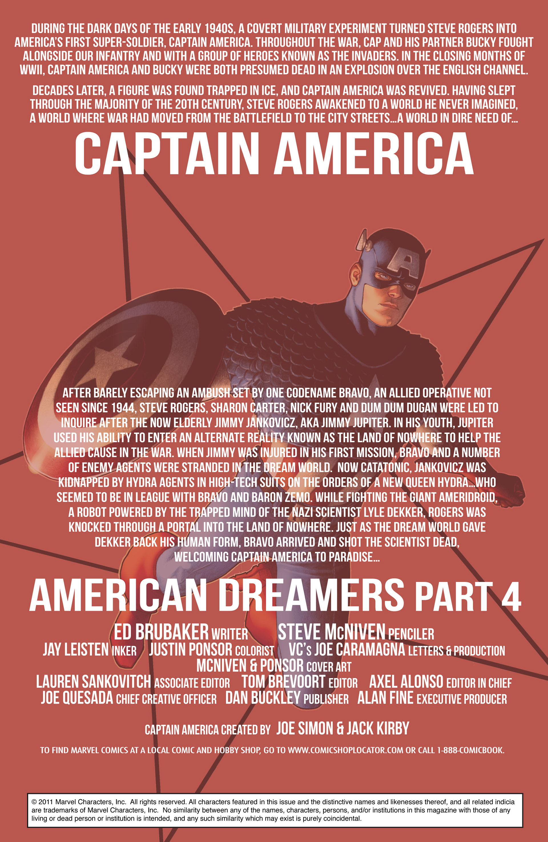 Captain America (2011) Issue #4 #4 - English 2