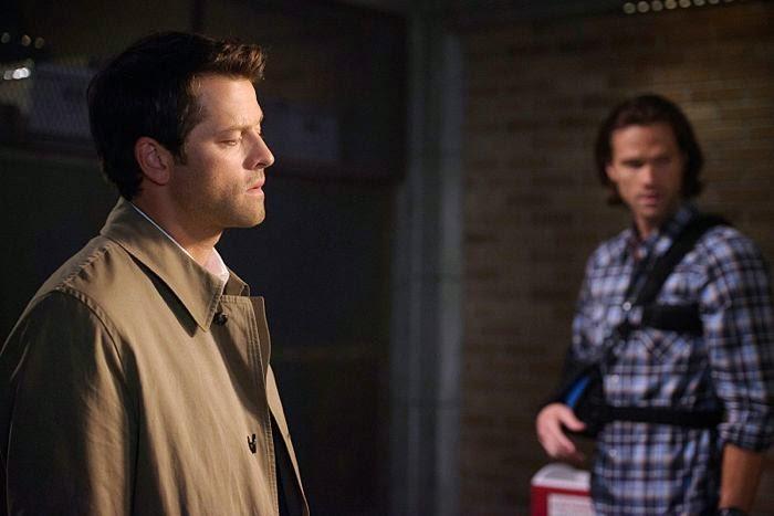 Supernatural. S10E04. Castiel ayuda a Sam
