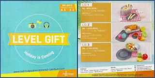 LEVEL GIFT Tulipware November - Desember 2013