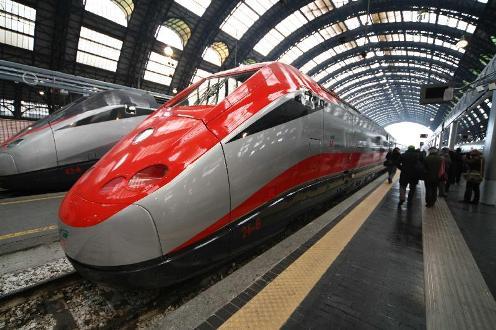 Fastest train ETR 500 10 Daftar Kereta Api Tercepat Di Dunia