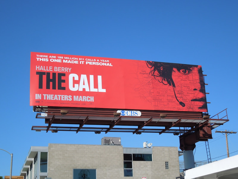Call movie billboard