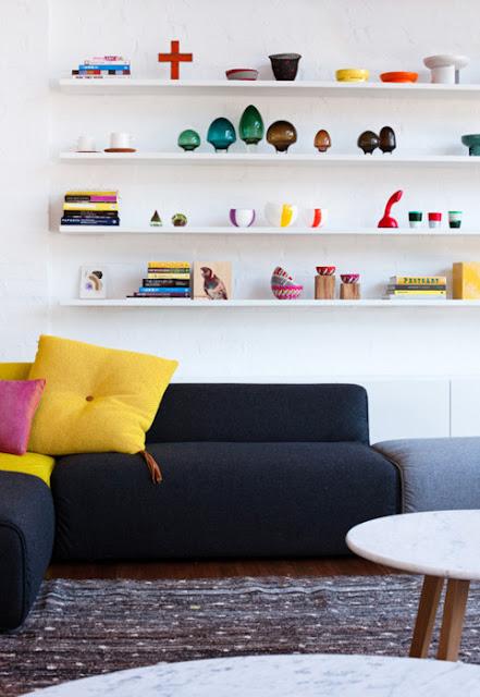 amarillo en casa