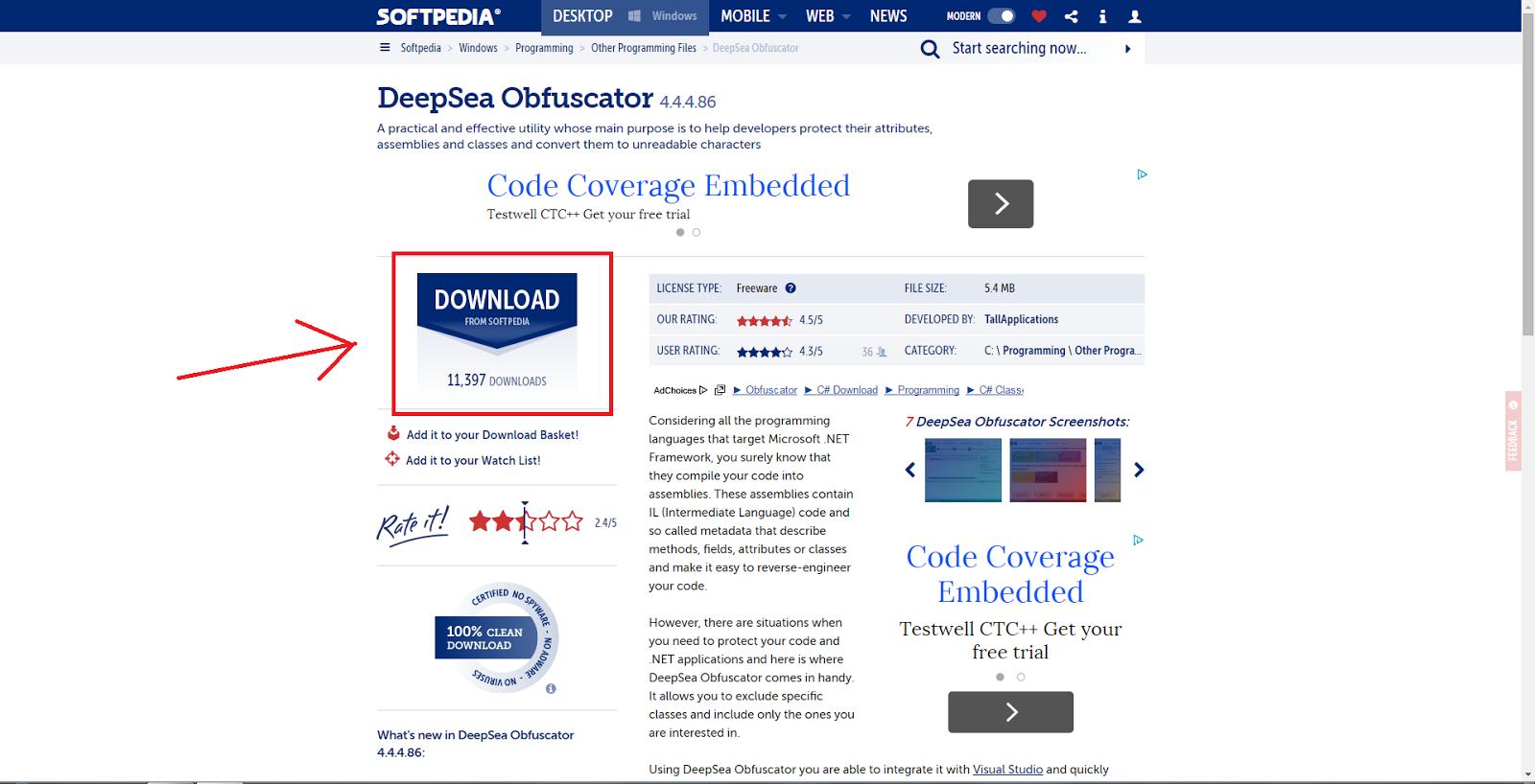 Deepsea obfuscator 3 1 3 74