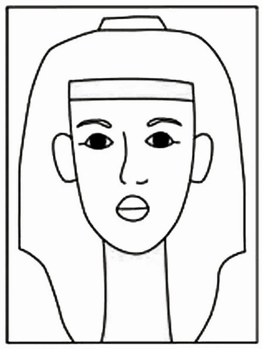 How To Draw King Tut Art Projects For Kids Drawing King