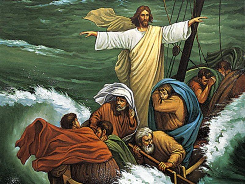 Jesus haciendo milagros