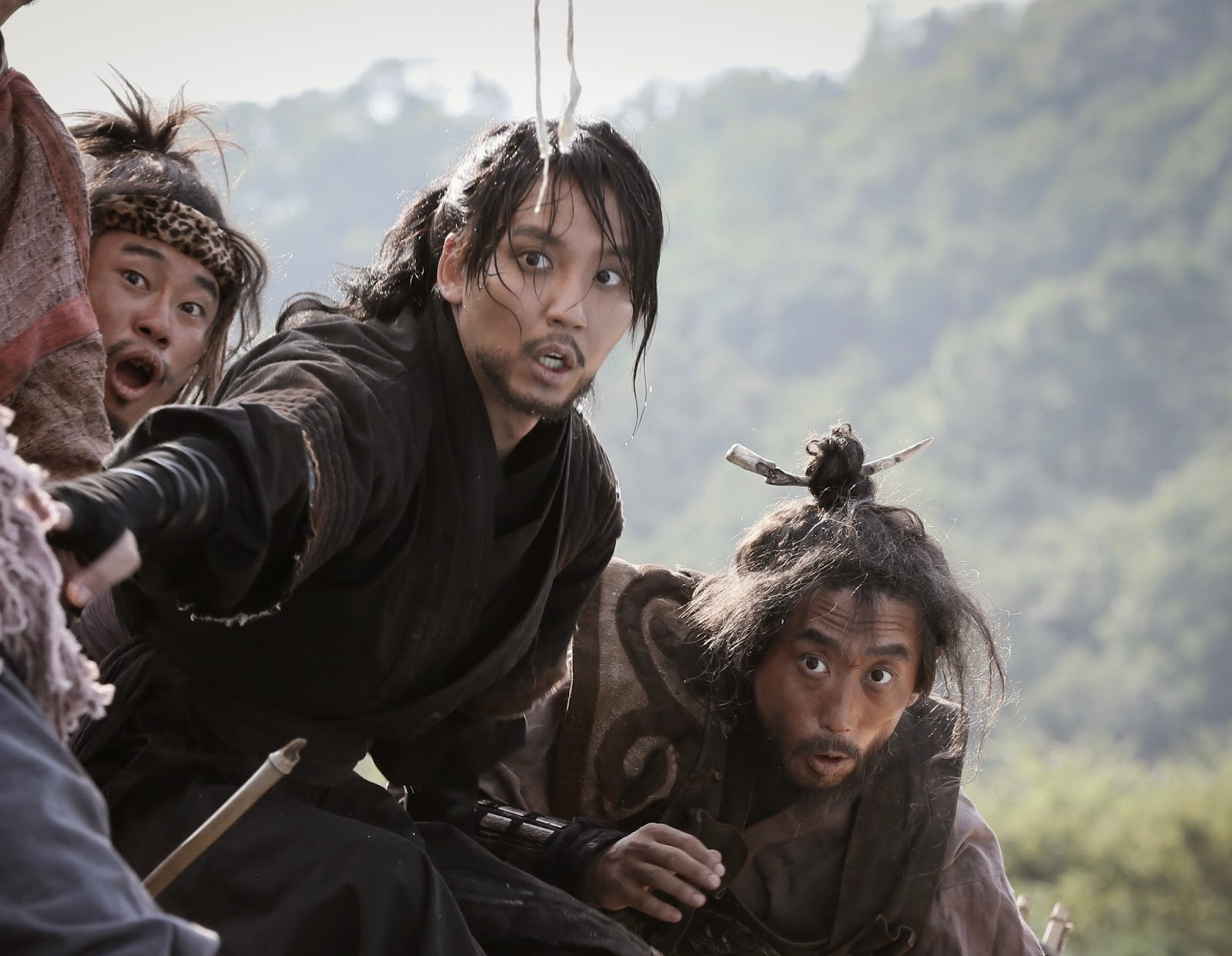 Adegan Lucu dari Film The Pirates Korea 2014