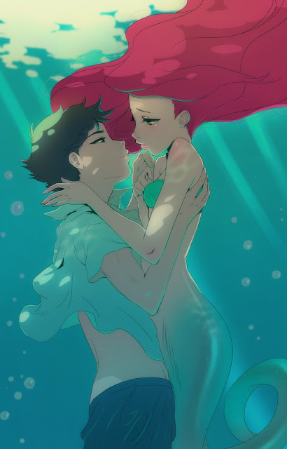 anime love,Little Mermaid,Disney Movie