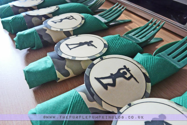 #Army #Party Napkin