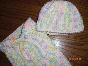 Post Stitch Cuddle Sac for Preemies