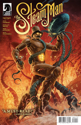 Cover of The Steam Man #1, Courtesy of Dark Horse Comics