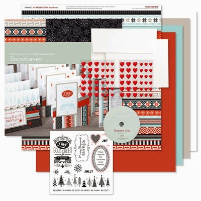 SNOWHAVEN CHRISTMAS CARDMAKING KIT