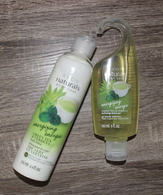 Avon Naturals Energizing Green Tea & Verbena Hydrating Shower Gel & Body Lotion