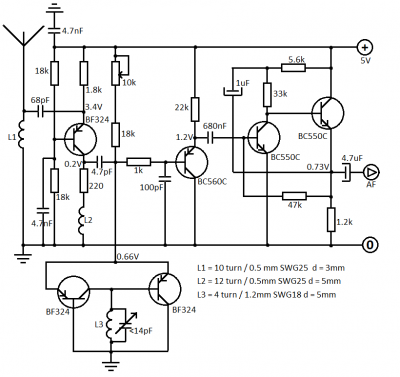 FM Receiver Circuit Diagram