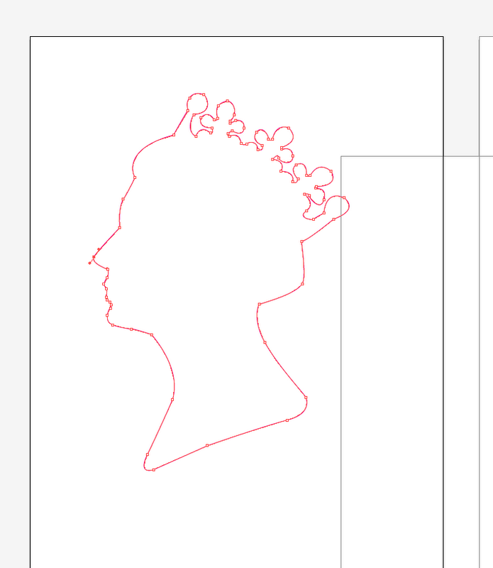 Design practice stamp it queen 39 s head Which side does a stamp go on