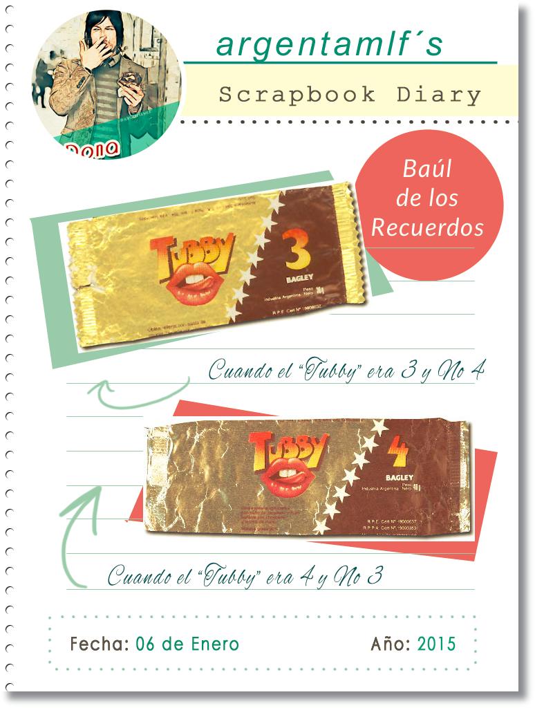 argentamlf - Scrapbook Diary - 06/01/2015