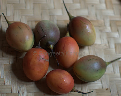 tamarillo or tree tomatoes