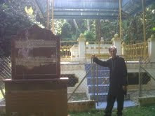 Makam Sultan Muhammad Shah (1470-75), anak Mansur Shah Melaka.