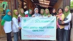 Bank Sampah Melati Bersih RS Griya Pipit VI