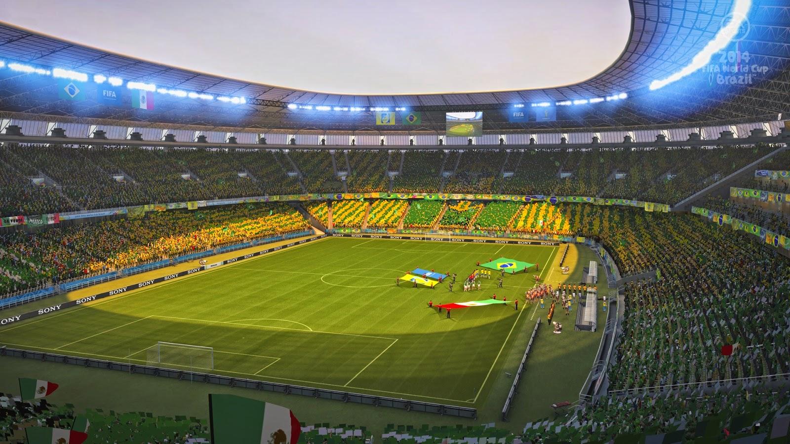 FIFA worldcup Brazil 2014 opening stadium