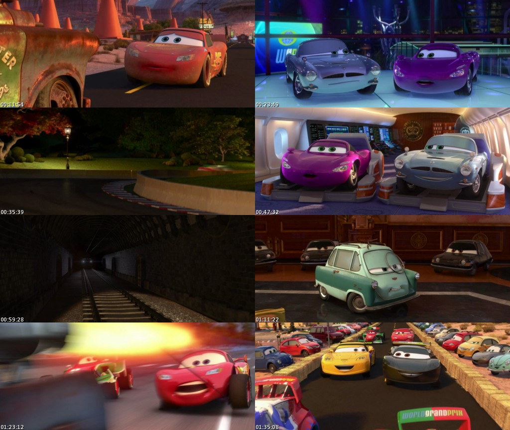 Cars 2 (2011) [BRScreener] [Latino]