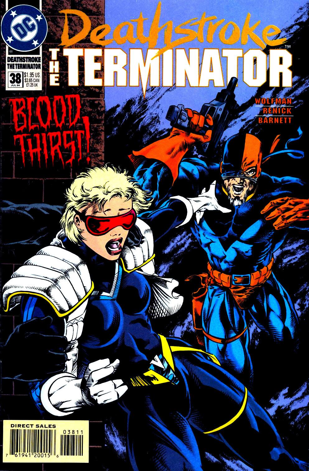 Deathstroke (1991) Issue #38 #43 - English 1