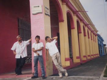 With Nicolas and Rafael in Tlacotalpan, Veracruz January 2007