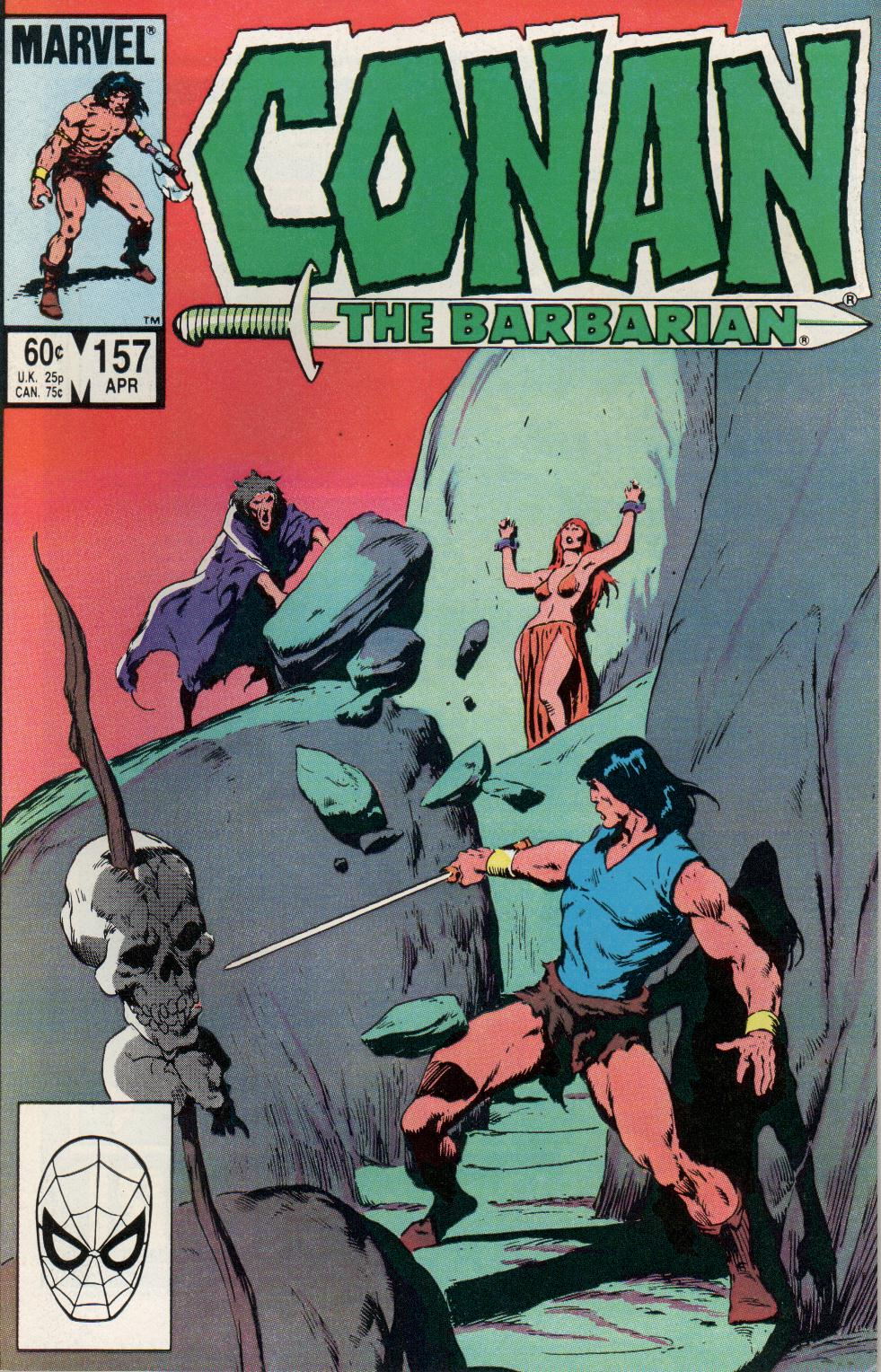 Conan the Barbarian (1970) Issue #157 #169 - English 1