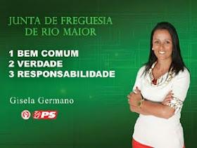Visite a página da campanha de Gisela Germano para a Junta de Freguesia de Rio Maior - Facebook