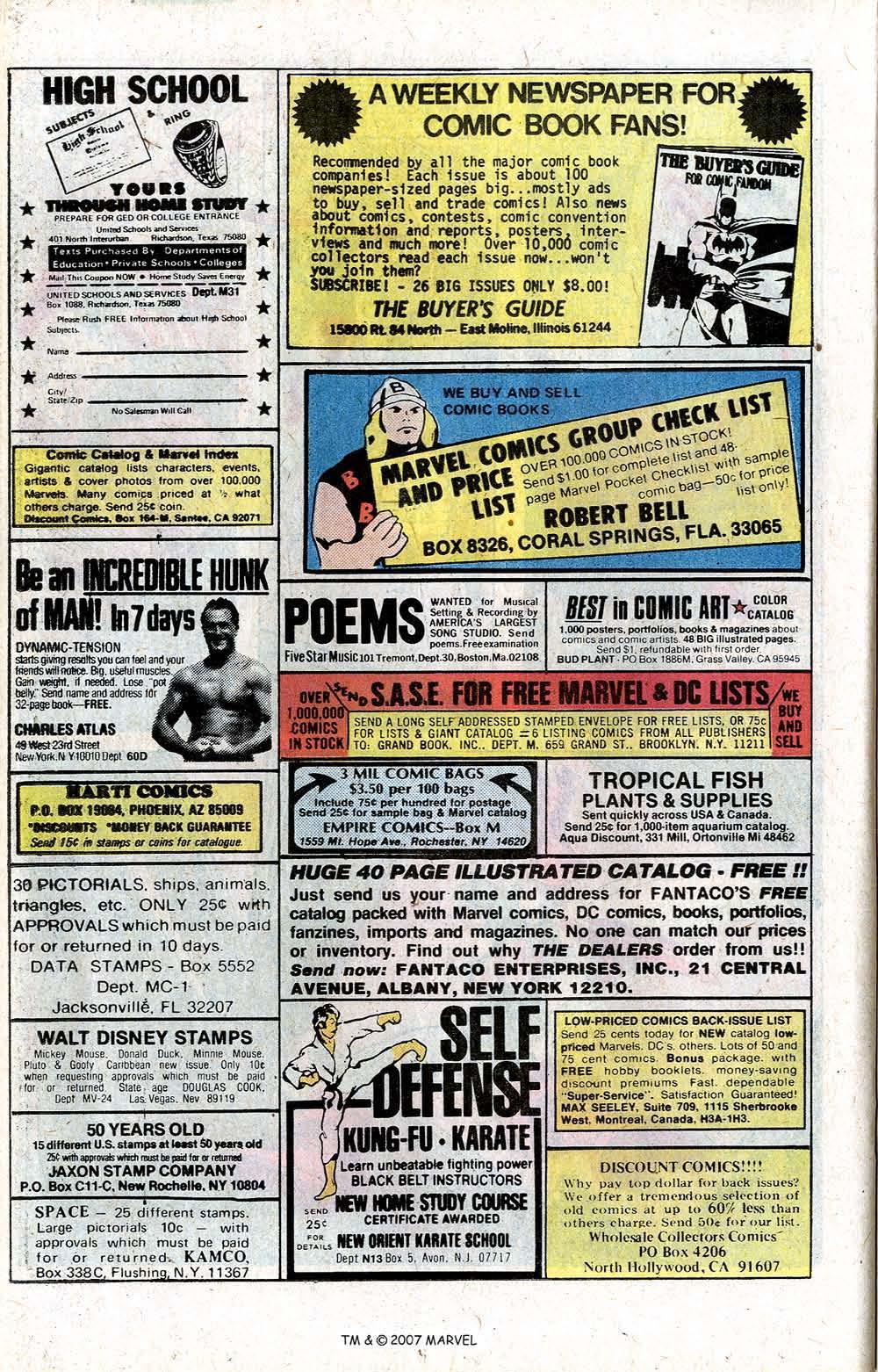Captain America (1968) Issue #256 #171 - English 22