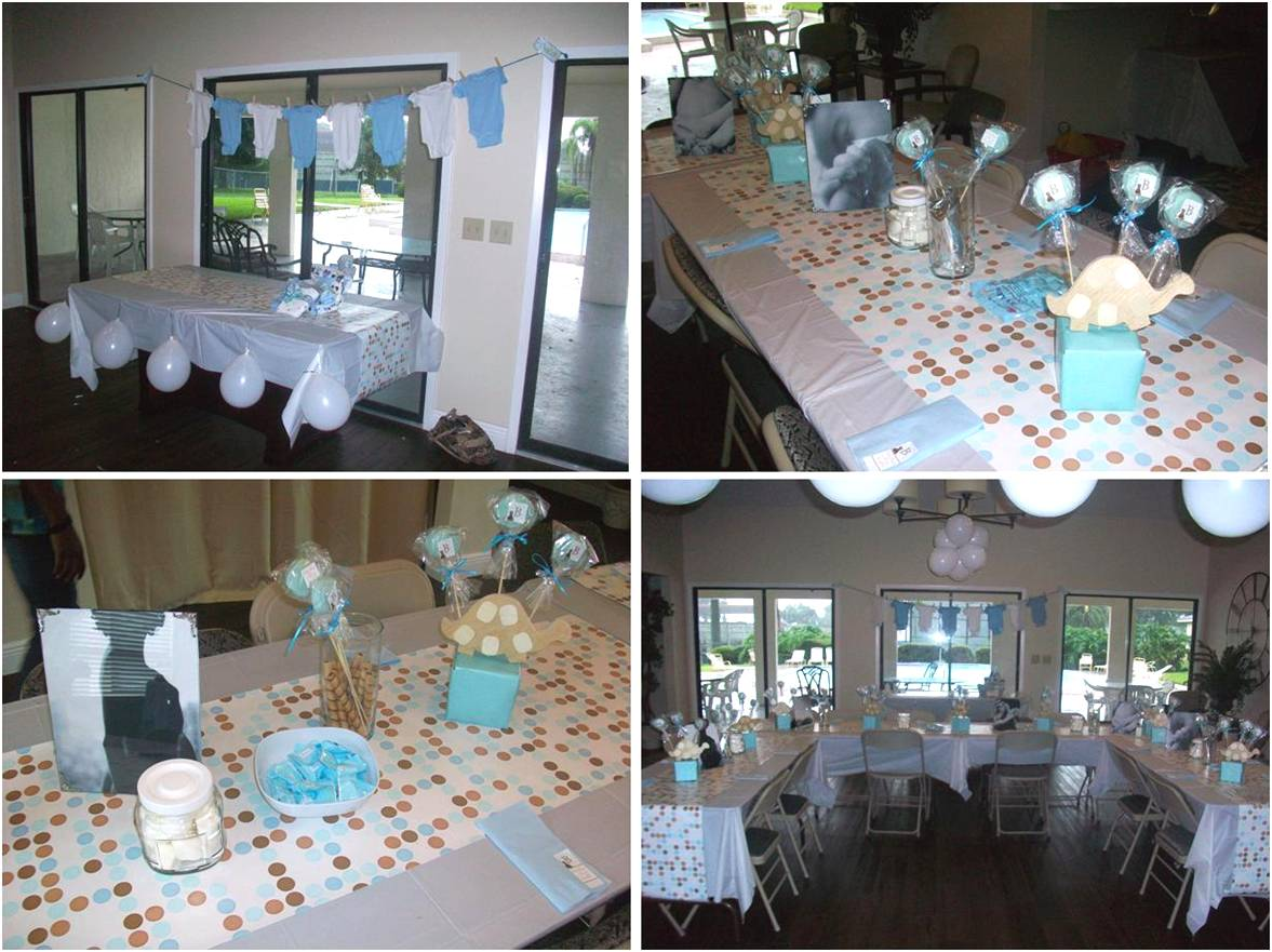 Baby Shower Centerpieces Homemade Ideas for Boys 1177 x 881