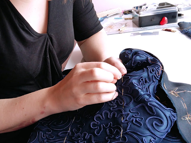 Sewing lace | www.stinap.com