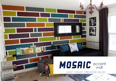 Painting Photo: Modern Living Room Accent Wall Painting Color
