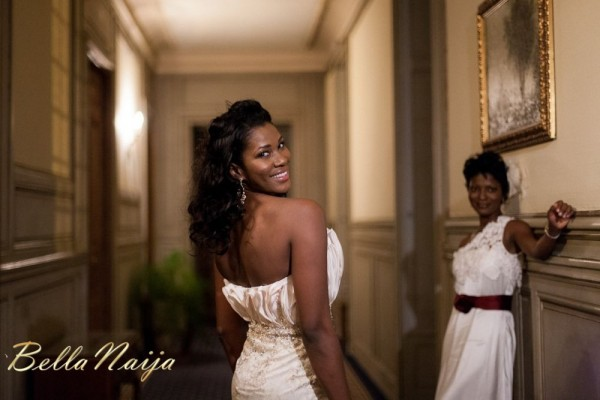 Nigerian Celebrity Wedding Dresses : Subira wahure official african couture fairy tale