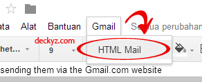 Mengirim email dengan HTML