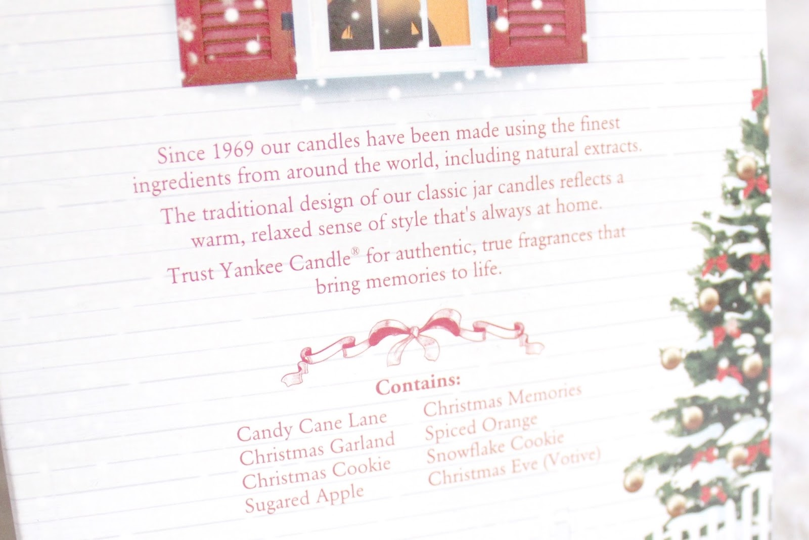 Yankee Candle 2014 Advent Calendar House