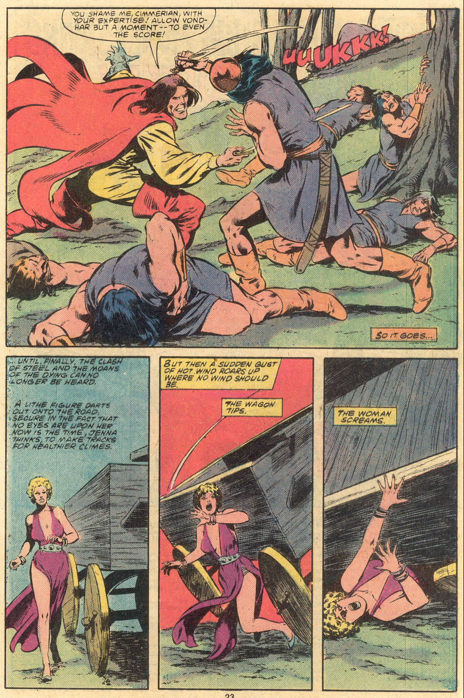 Conan the Barbarian (1970) Issue #120 #132 - English 19