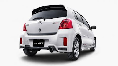 new toyota yaris semarang 2012 facelift