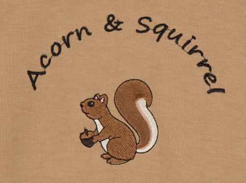Acorn and Squirrel Sweatshirt