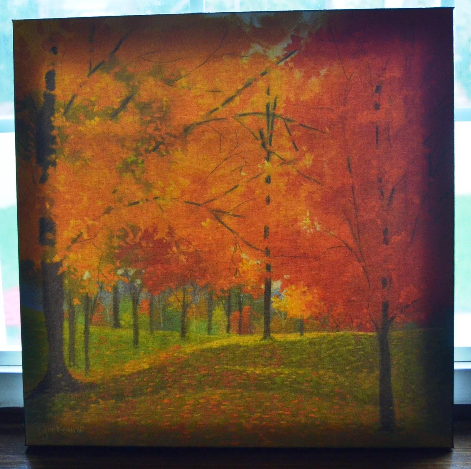 Bright Autumn Day II print