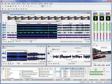 برنامج تاثيرات الصوت Sony Sound