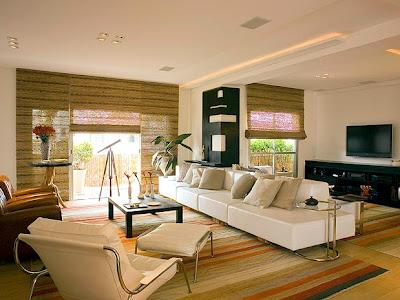 foto de sala moderna decorada