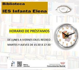 HORARIO DE USO DE LA BIBLIOTECA
