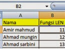 Fungsi LEN,CONCATENATE,UPPER,LOWER, PROPER,REPT,T,VALUE, dan FIND  di Excel