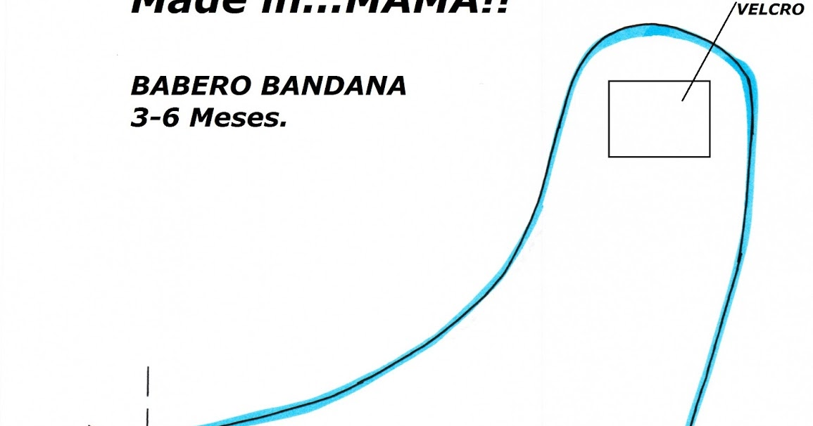 Viernes DIY: bandana babero | La mamá Vaca Blog