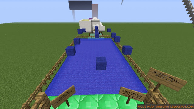Hidden Parkour Mapa para Minecraft 1.8