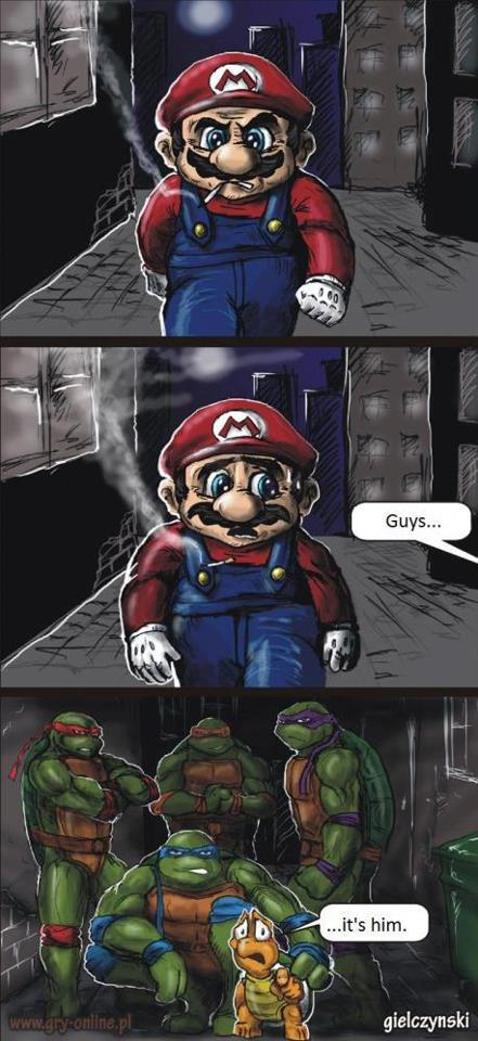 Little Turtle Finally Has His Revenge Against Mario