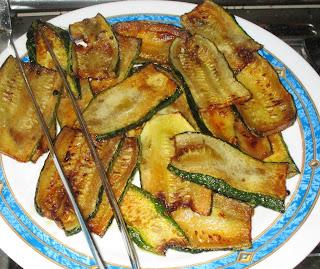 parmigiana bianca di zucchine ... al microonde