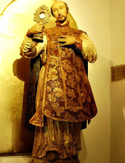 San Francisco de Borja no Museu Diocesano de San Ignacio Guazu, no Paraguai.