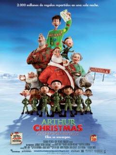 Arthur Christmas – Operación regalo Online